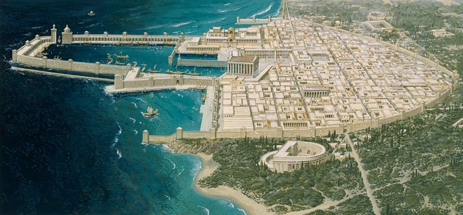 Caesarea / Reconstruction / Connolly